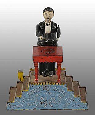Patented 9/17/1901 Magician Mechanical Bank