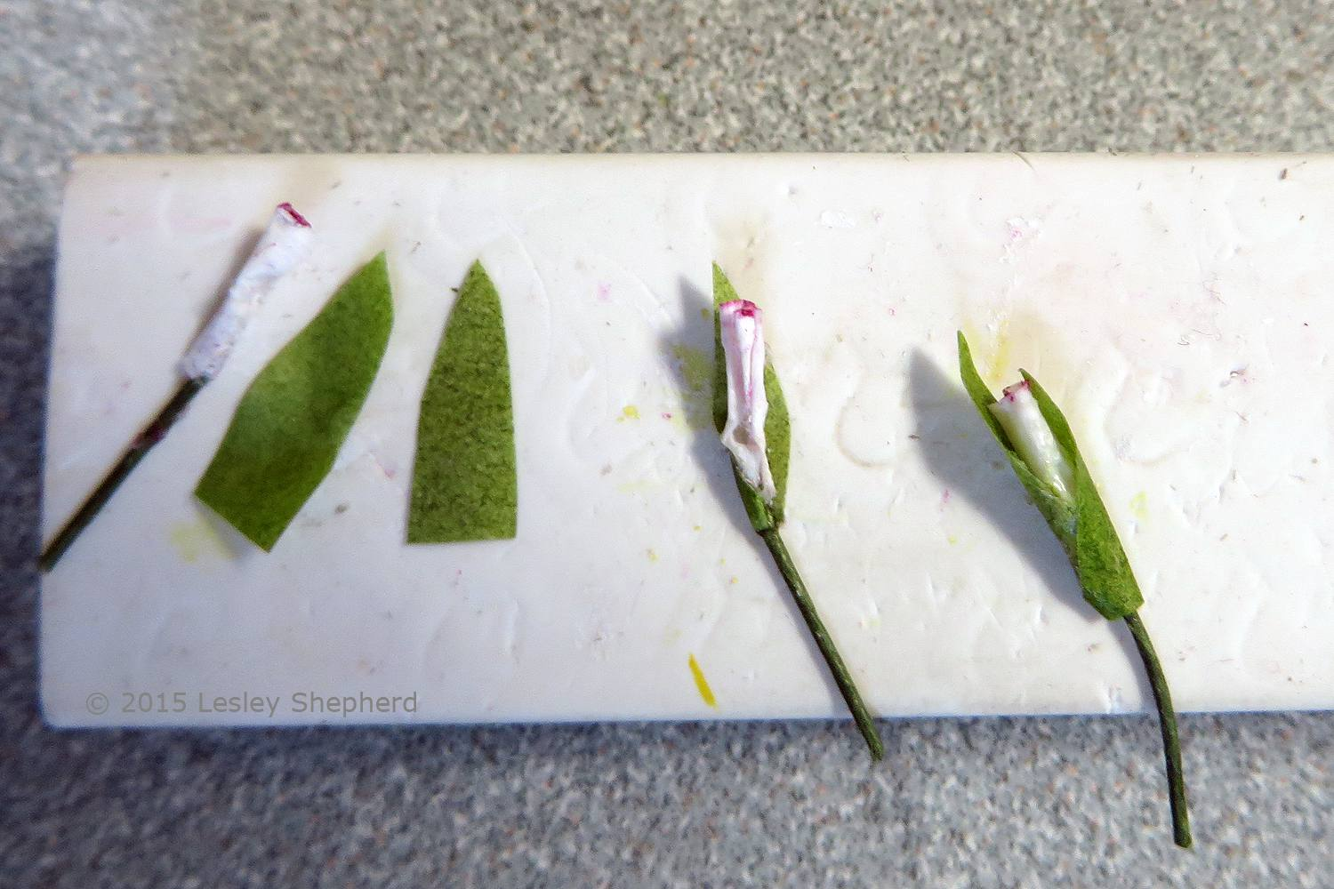 How To Make Miniature Gladiolus For Dollhouse Bouquets Or Gardens