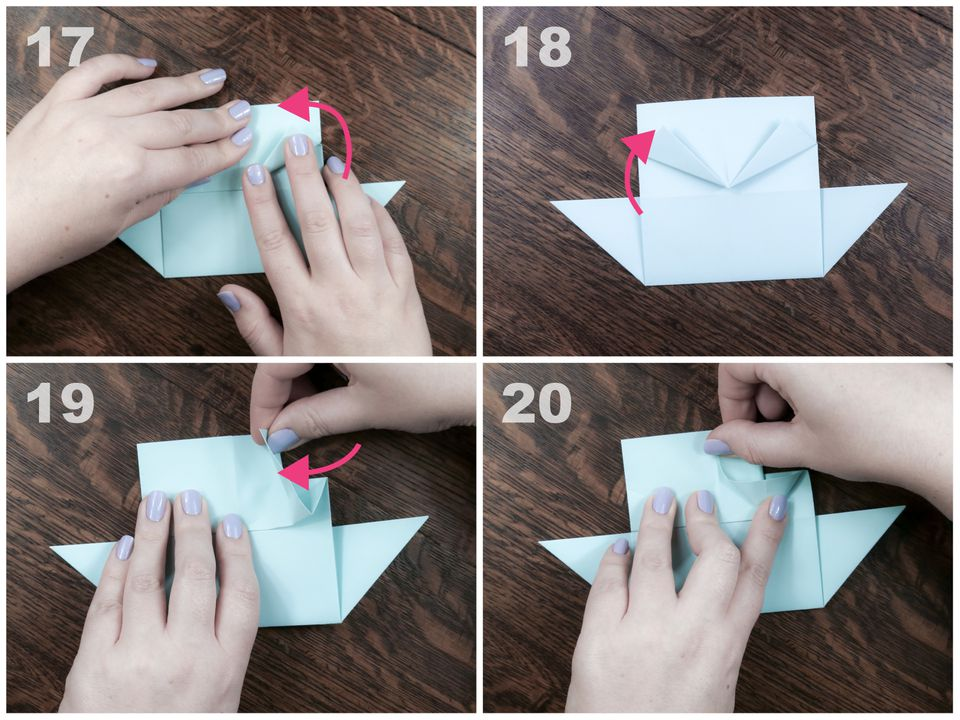 how to make a origami ship