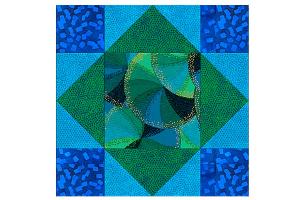 Kings Crown Quilt Block Pattern