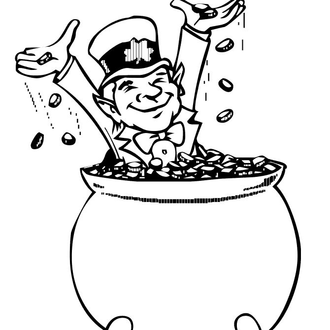 Free, Printable St. Patrick\'s Day Coloring Pages