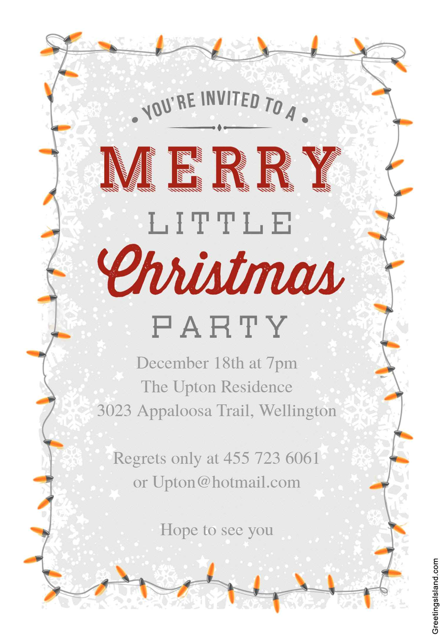 10 free christmas party invitations that you can print