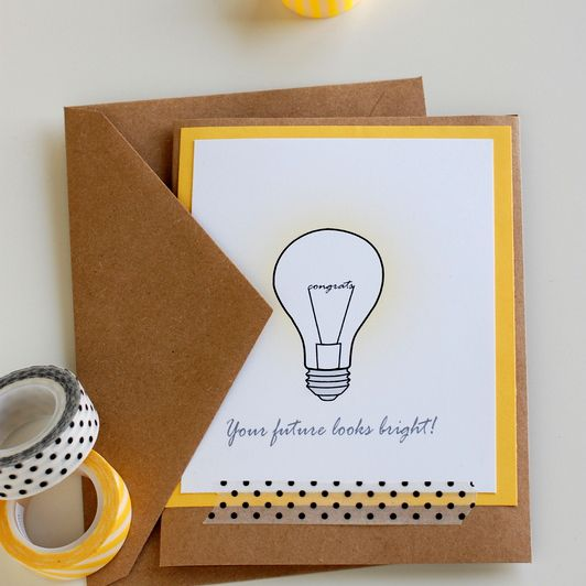 DIY Your Future Looks Bright Card