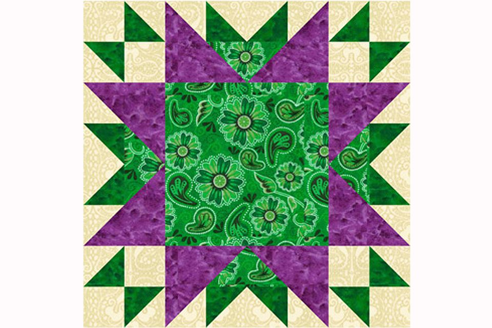 Oddfellows Chain Quilt Block Pattern