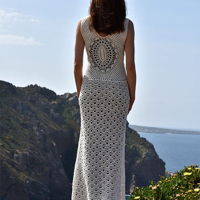 Crochet Beach Wedding Dress Pattern