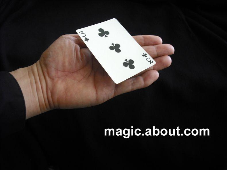 how to make a card levitate no gimmicks