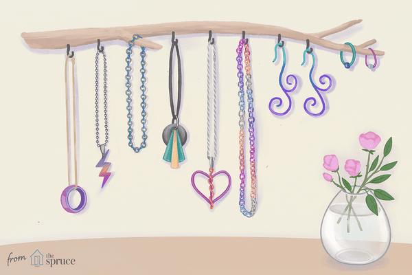 Illustration of niobium jewelry