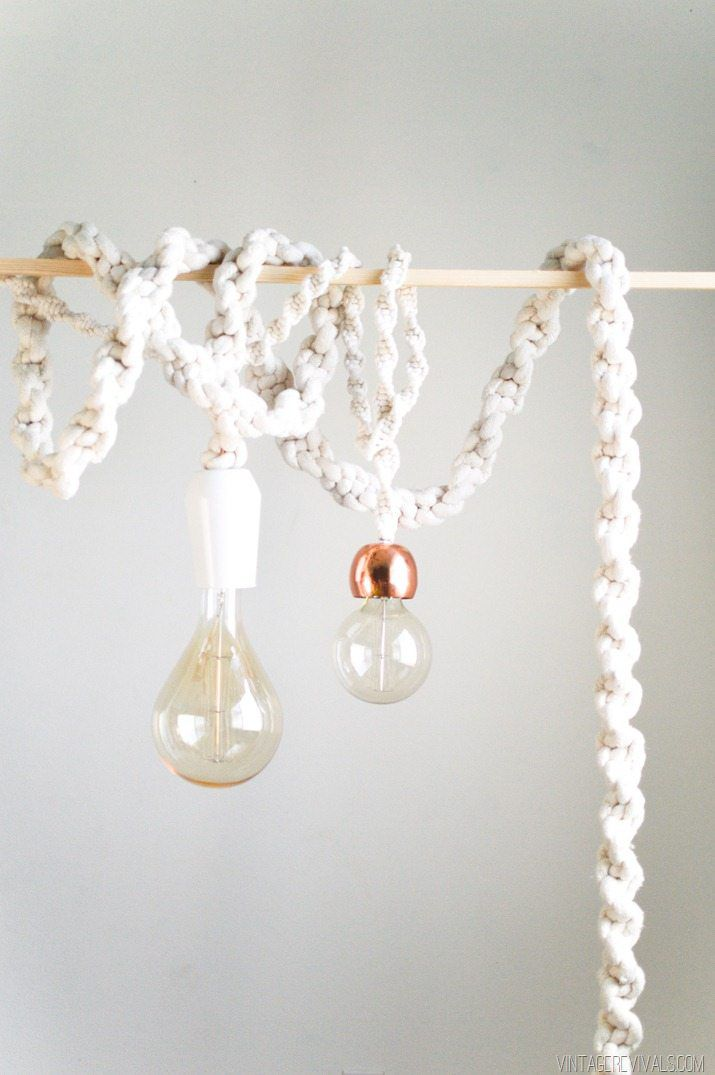 macrame light cord