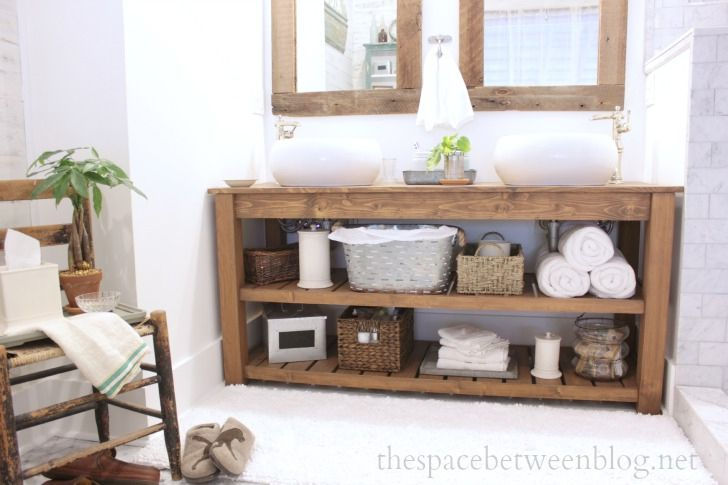 Diy Bathroom Vanity Plans You Can Build