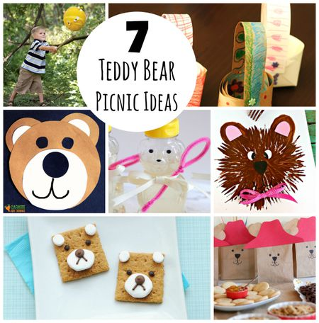 7 Crafts To Celebrate A Teddy Bear Picnic