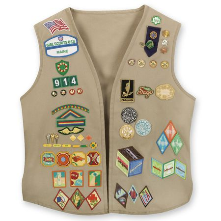 How to Attach Girl Scout Patches