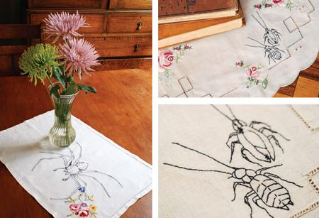 10 Free Halloween Themed Embroidery Patterns