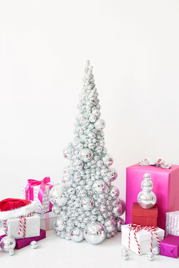 DIY Disco Ball Christmas Tree