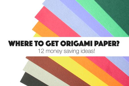 Where To Get Free Origami Paper Around Your House