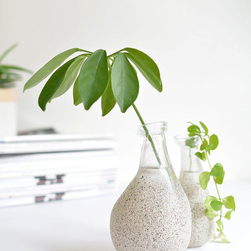 DIY Faux Stone Vase