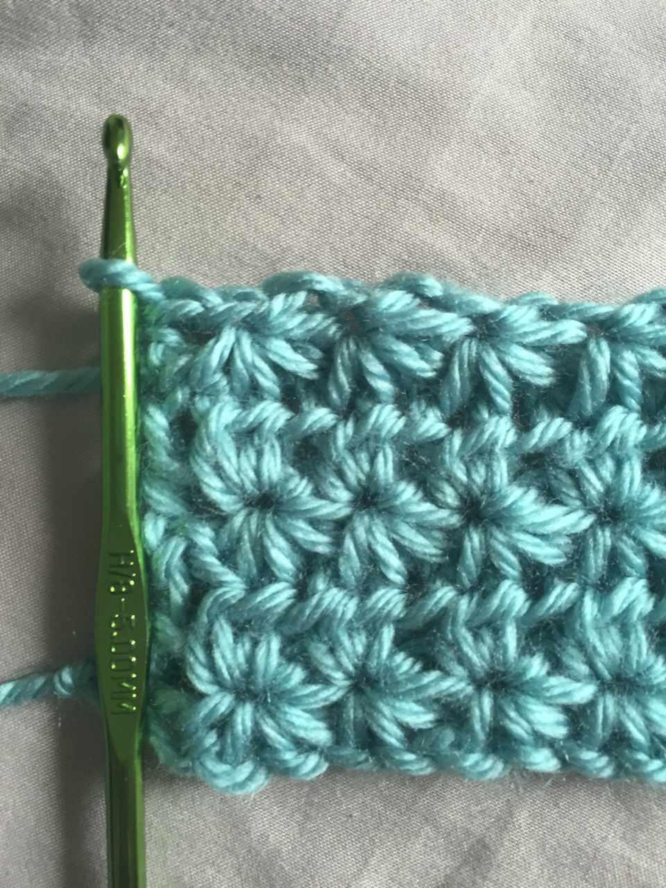 How to Crochet Star Stitch
