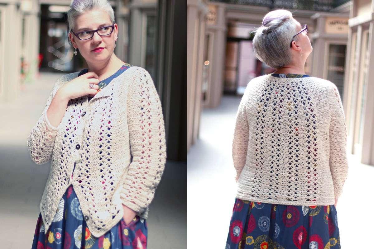 Imogen Cardigan Crochet Pattern