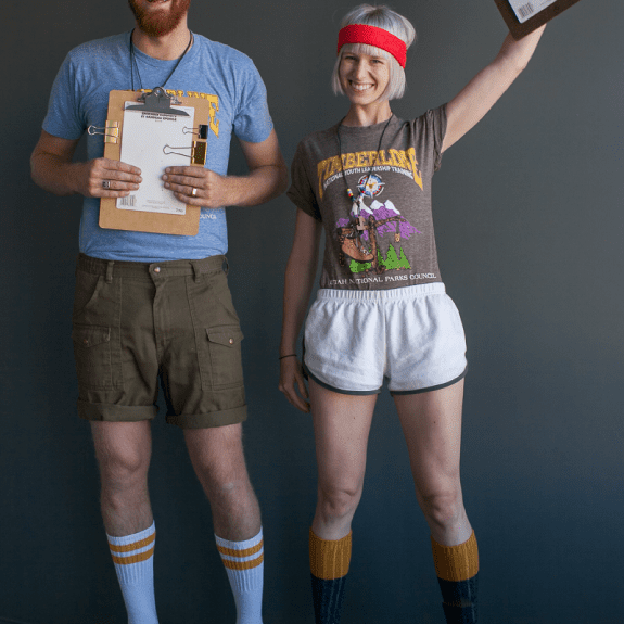 DIY camp counselors costumes