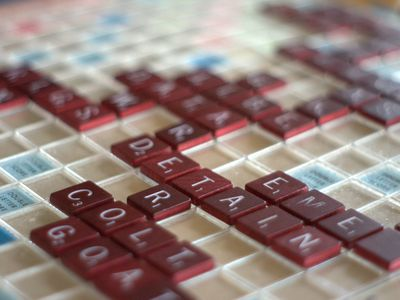 Scrabble Tile Distribution and Point Values