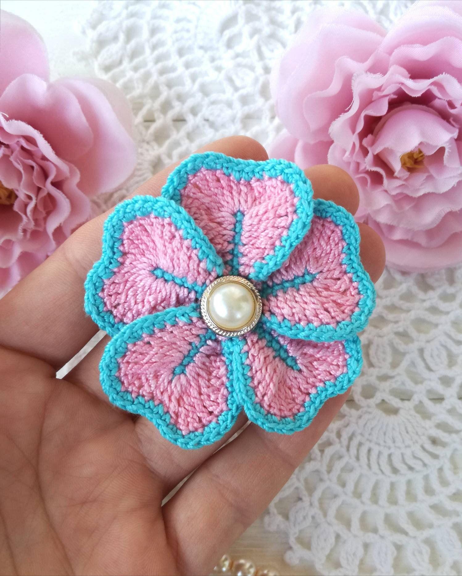 25 Easy Crochet Flower Patterns