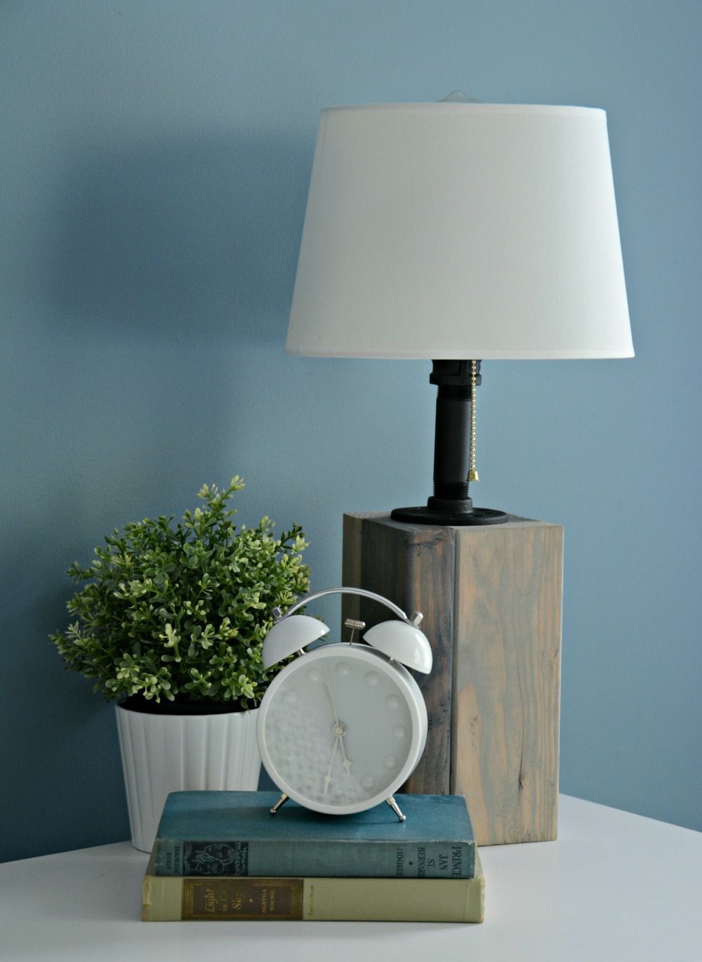 how to build a diy lamp