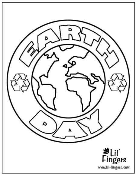 The Earth With Phrase Day Surrounding It