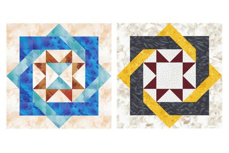 Free 12 Patchwork Quilt Block Patterns