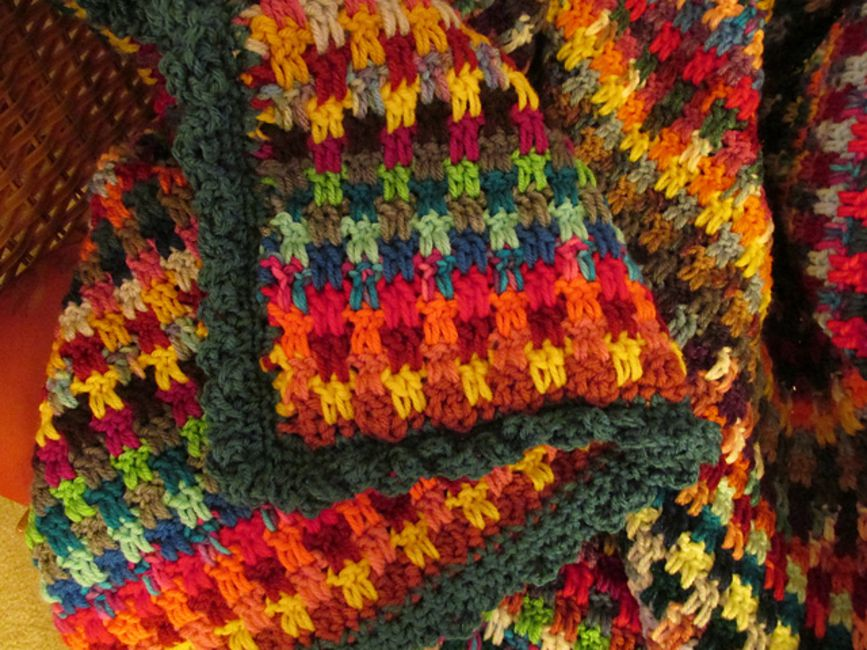 Dropped Stitch Crochet Afghan Pattern