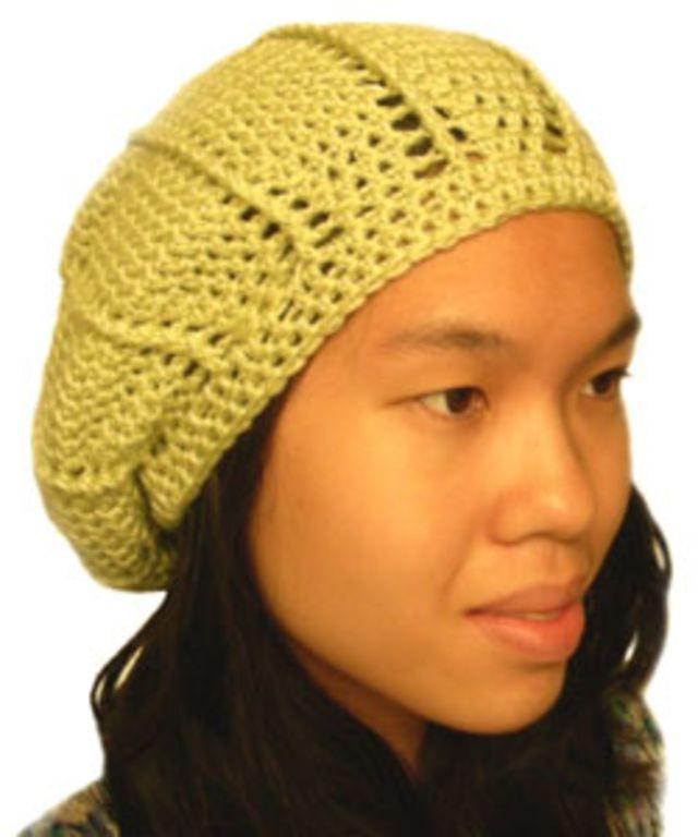10 Slouchy Crochet Hat Patterns