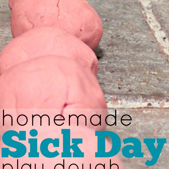Sick Day Play Dough