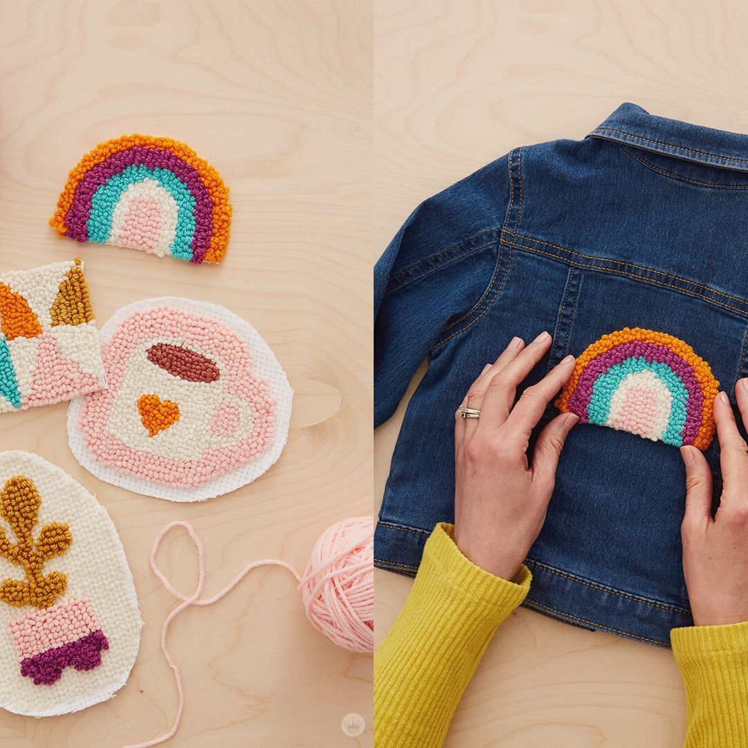 13 Punch Needle Embroidery Patterns