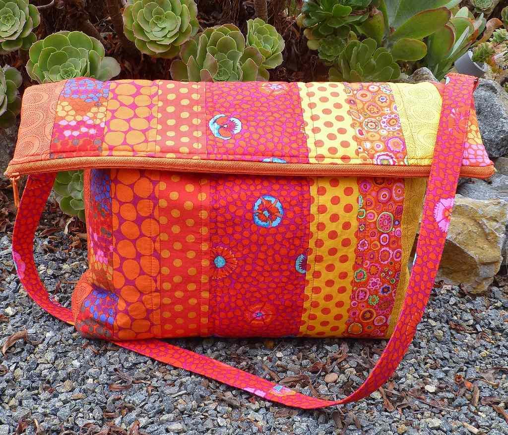 Flip Flop Messenger Bag