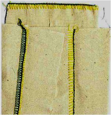 Three Thread Flatlock Stitch