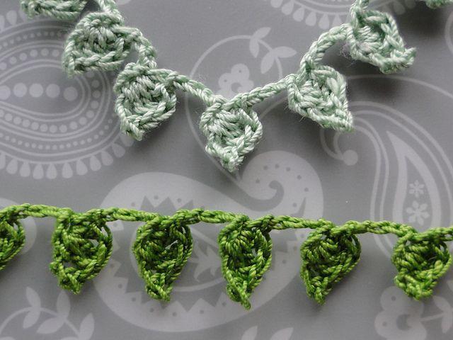 Little Leaves Garland Free Crochet Pattern