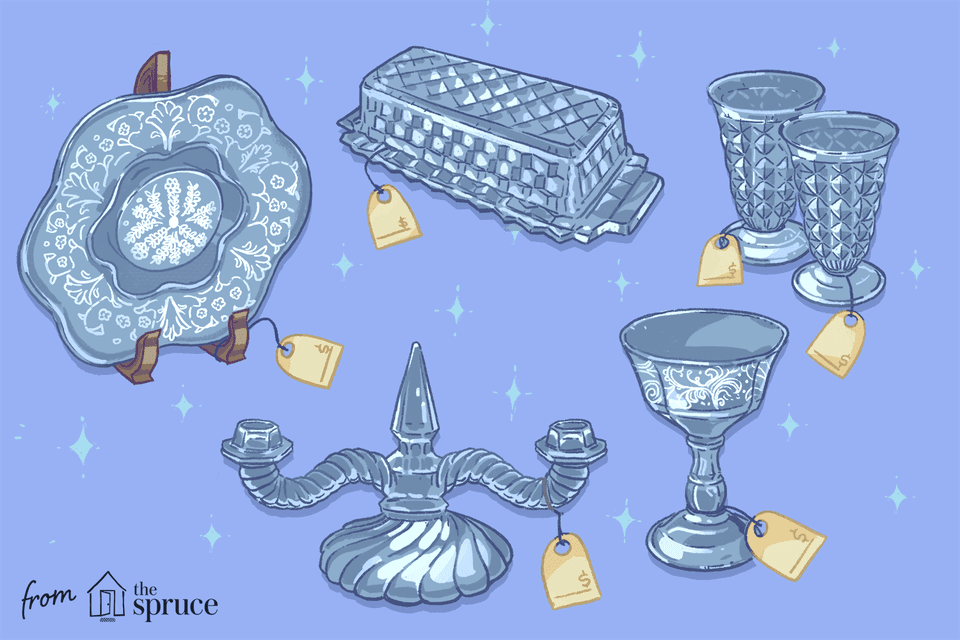 Illustration of glassware