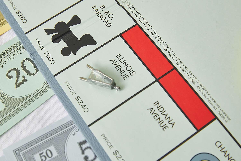 Monopoly Illinois Avenue