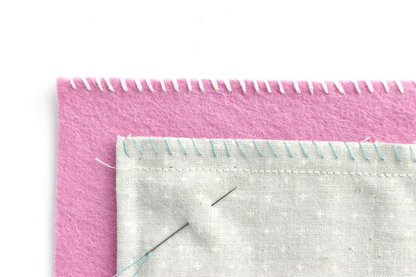 Samples of Hand-Sewn Overcast Stitch