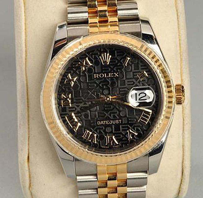 Rolex Stainless Steel & 18K Gold Men's Watch
