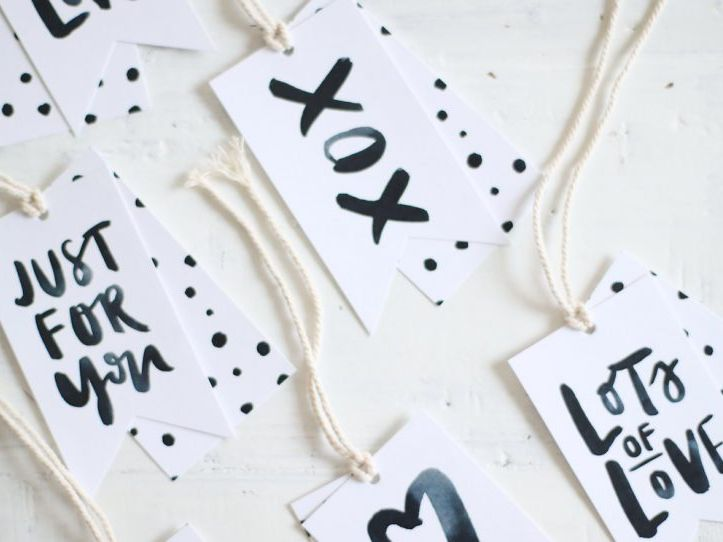 10 Free Printable Gift Tag Templates And Designs