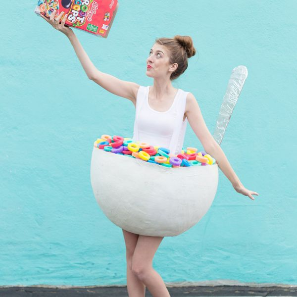 paper mache cereal bowl