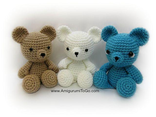 Small Teddy Bear Free Video Crochet Pattern