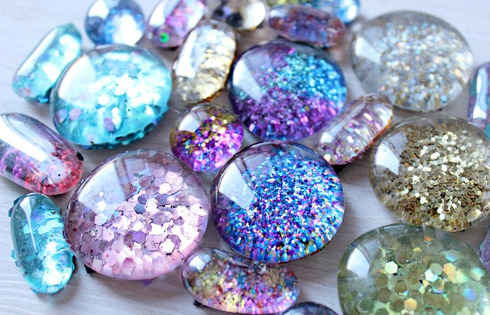 Glitter Magnets
