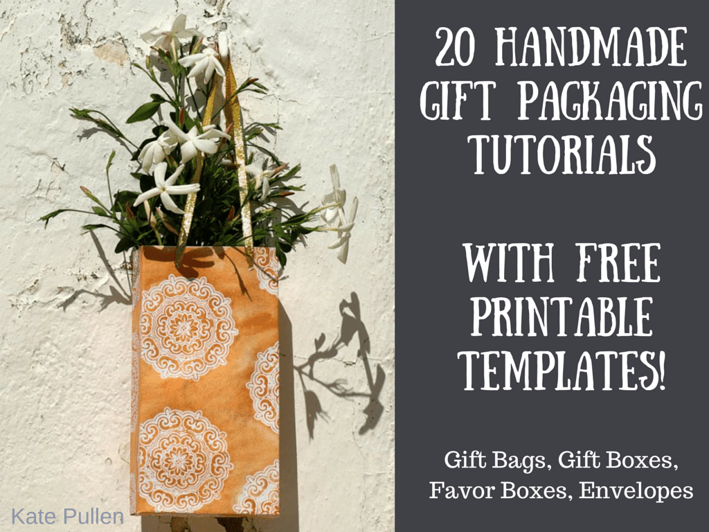 Make Custom Diy Gift Packaging With Our Free Templates