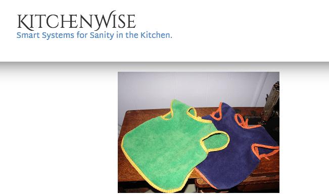 Towel bibs with cap sleeves