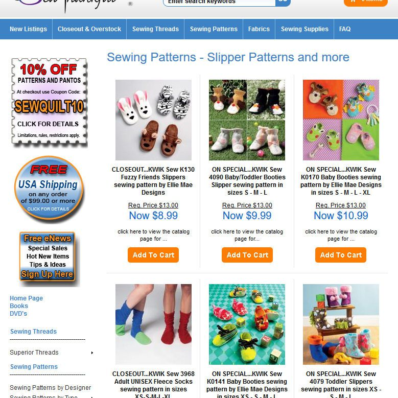 Free Slipper Sewing Patterns and Ideas
