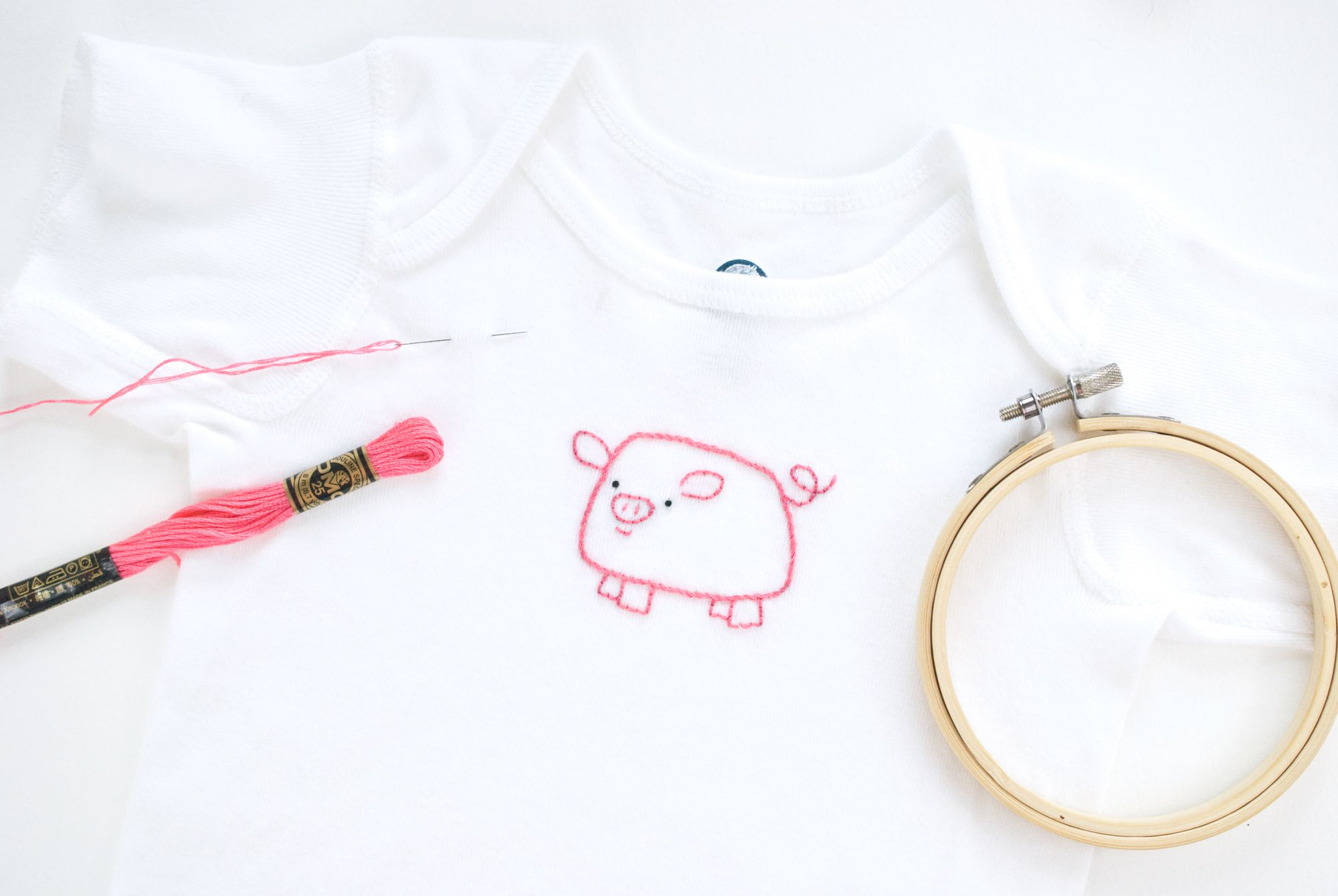 a667a588a40 How to Hand Embroider on T-Shirts