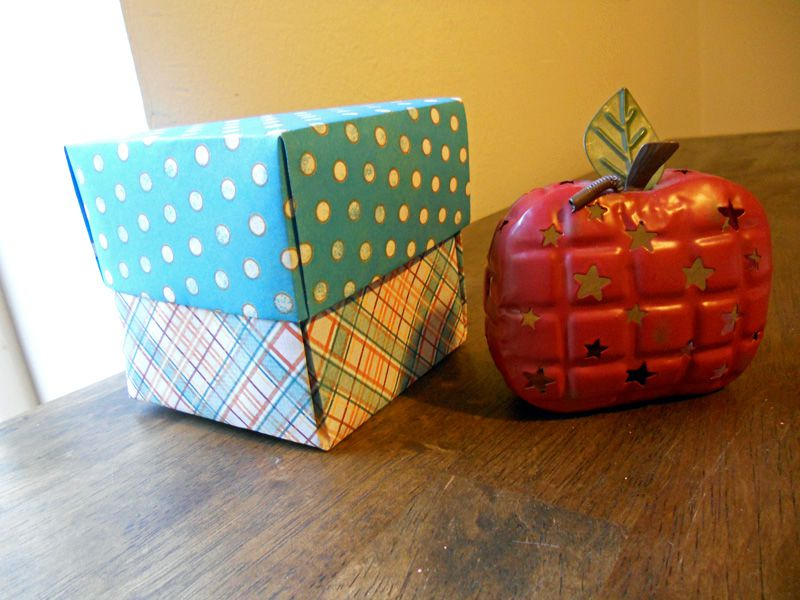 A set of paper origami exploding boxes