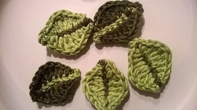 Little leaf crochet