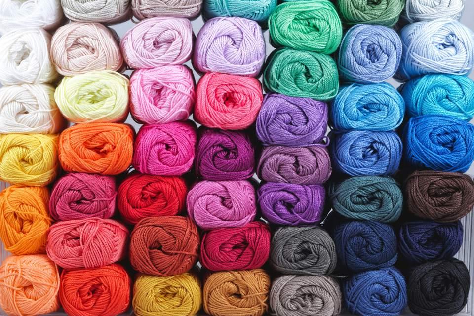 Full Frame Shot Of Wool Balls
