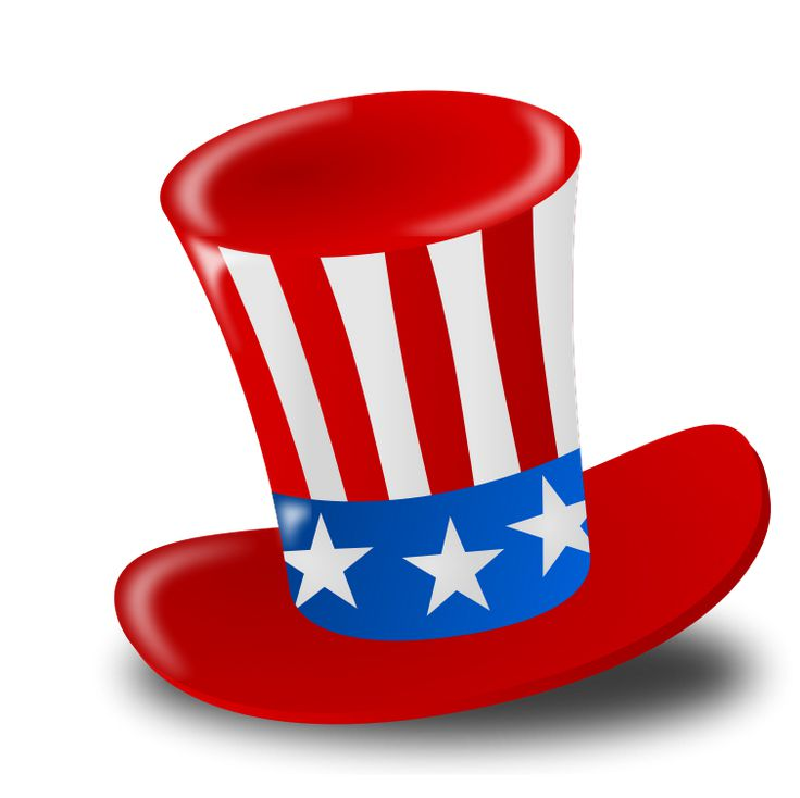 4th of july patriotic. Free th clip art